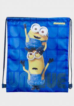 Minions Design Kids Drawstring Sports Bag - 6 pack