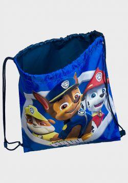 Paw Patrol Design Childrens Drawstring Backpack - 4 pack