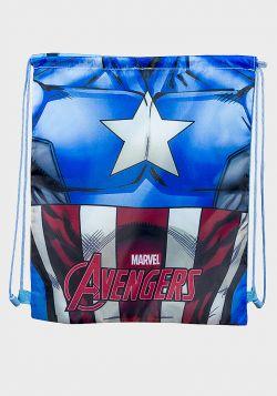Marvel Avengers Design Kids Drawstring Sports Bag - 6 pack
