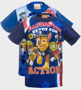 Paw Patrol Design Boys Printed T-Shirt (3y-8y) - 12 pack
