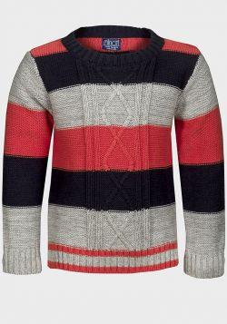 Minoti Boys Stripe Knitted Jumper (1/1½y-3/4y) - 8 pack