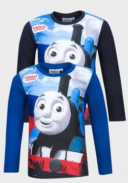 Thomas The Tank Engine & Friends Boys L/S T-Shirt (3y-8y) - 12 pack
