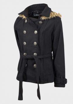 Dollhouse Girls Wool Blend Hooded Coat (2y-6x) - 6 pack