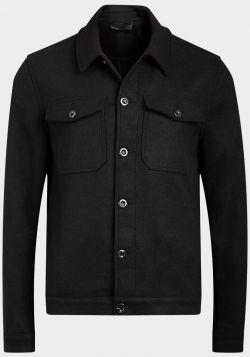 Ex UK Online Store Mens Wool Blend Trucker Jacket - 10 pack