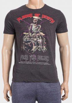 Brave Soul Mens Plague of Death Cotton T-Shirt - 6 pack